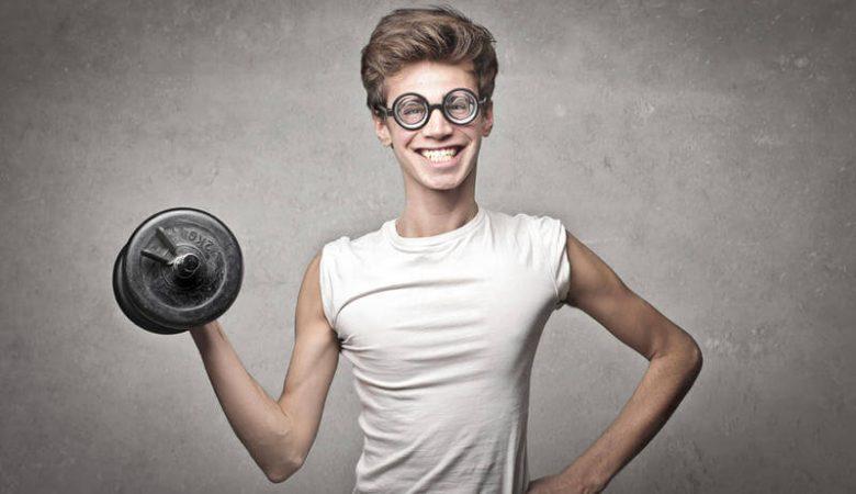 aumenten masa muscular las personas delgadas