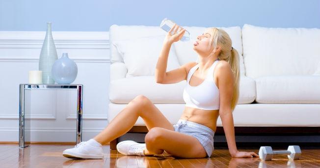rutina de ejercicio en casa