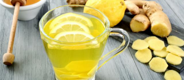 jengibre con limón para adelgazar