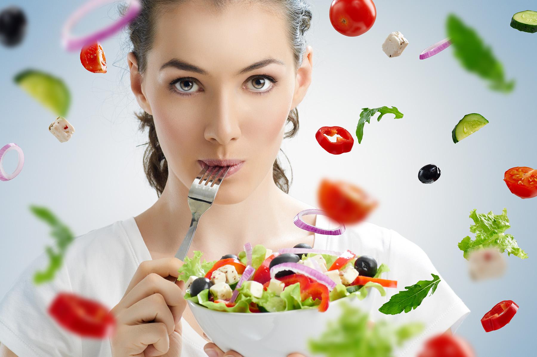 alimentos en una dieta para perder peso